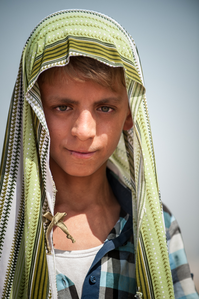 Refugee in Khazar IDP Camp, Mosul, Iraq