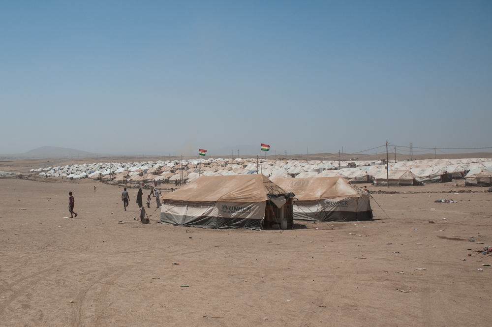 Khazar IDP Camp in Mosul, Iraq